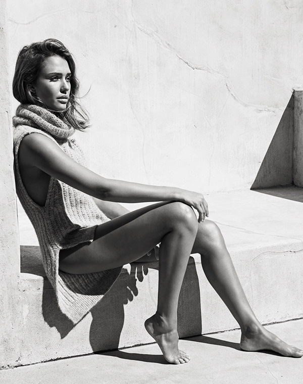 Jessica Alba for The Edit by Net-A-Porter