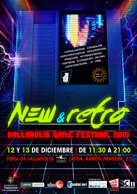 NEW & RETRO Valladolid Game Festival 2015