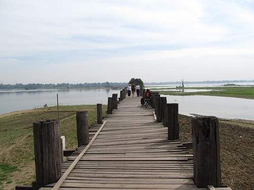 Amarapura: U Bein's Bridge