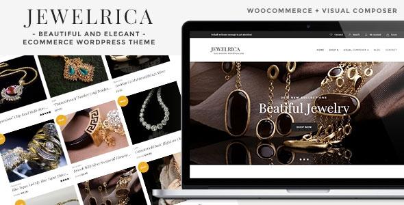 Themeforest Jewelrica v1.1.2 - eCommerce WordPress Theme