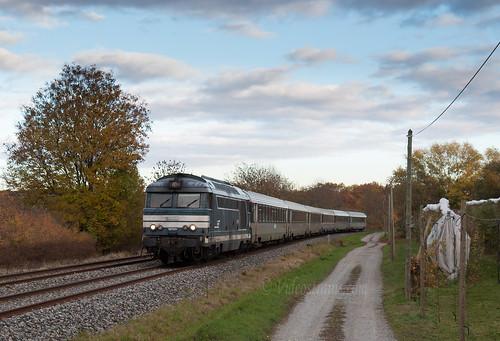 BB 67601 Train Intercites Lyon Part Dieu Nantes 4506