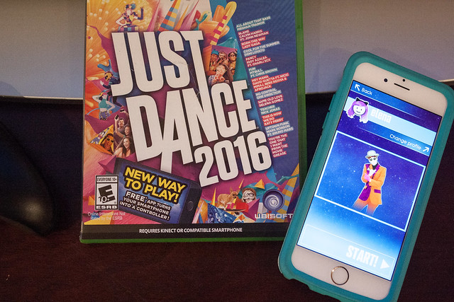 Just Dance 2016 Xbox One Smartphone Controller App