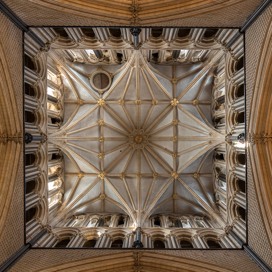 Lincoln Cathedral - Interior view of the crossing tower. Credit: David Iliff