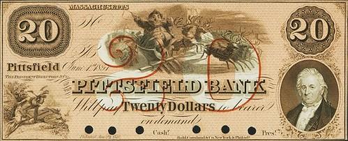 Santa banknote