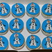 Small photo of Olaf cupcakes