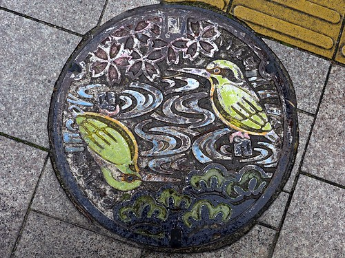 saijo Ehime, manhole cover (愛媛県西条市のマンホール)