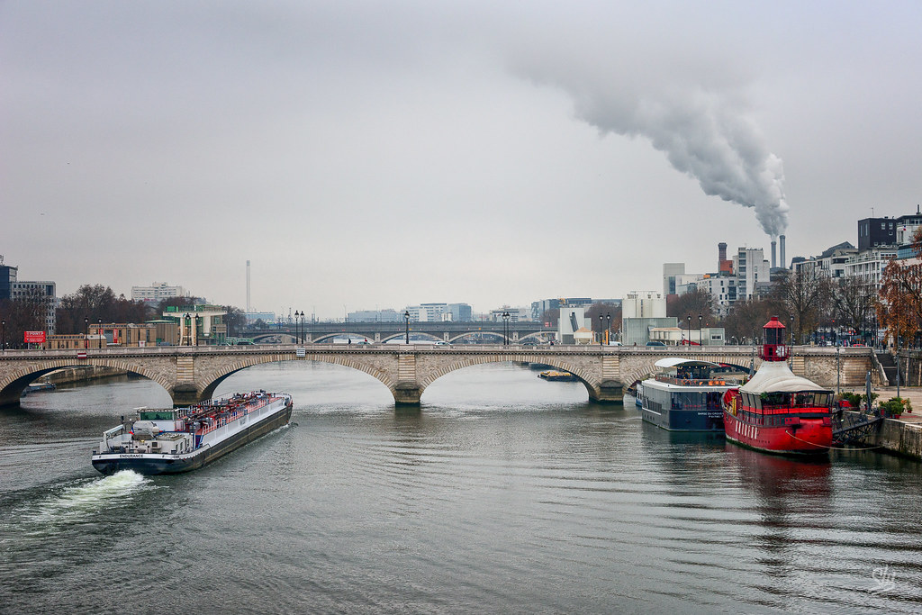 Pont de Tolbiac, Paris