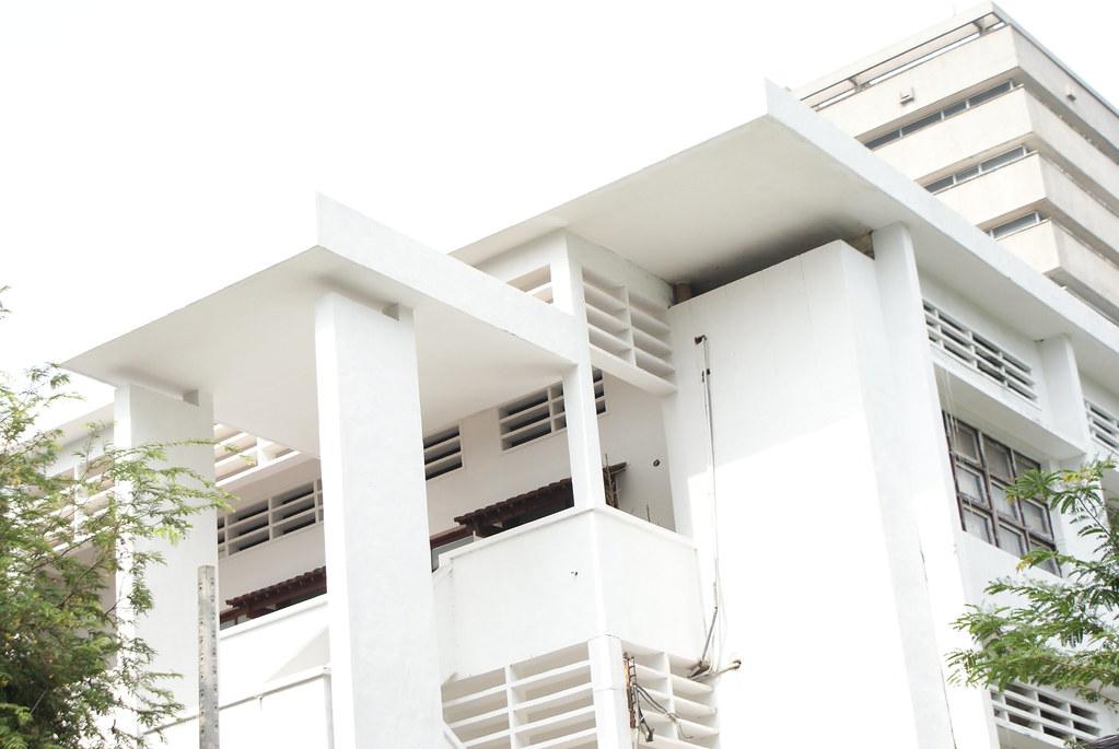 Autre exemple d'architecture intéressante du centre d'Ho Chi Minh.