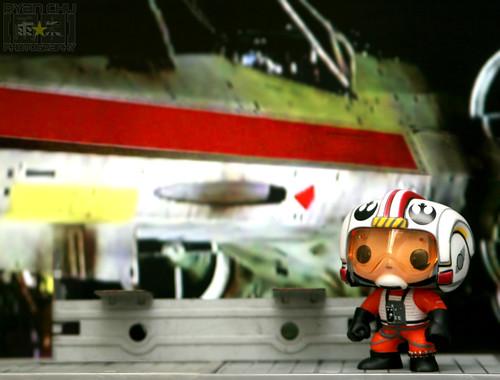Luke X wing Pilot