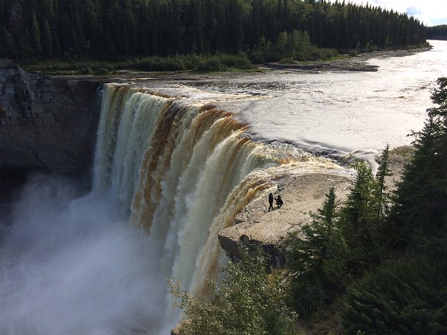 Photo of Alexandra Falls in the TripHappy travel guide