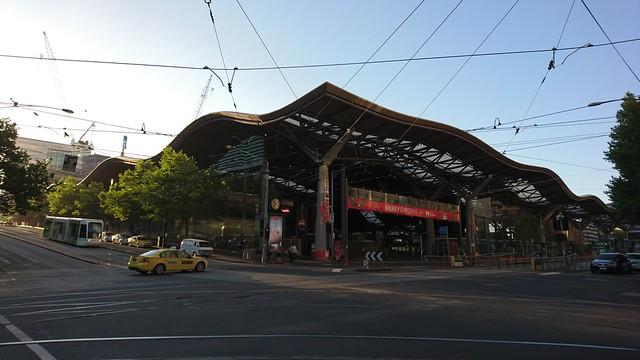 Melbourne Southern Cross Train Station
