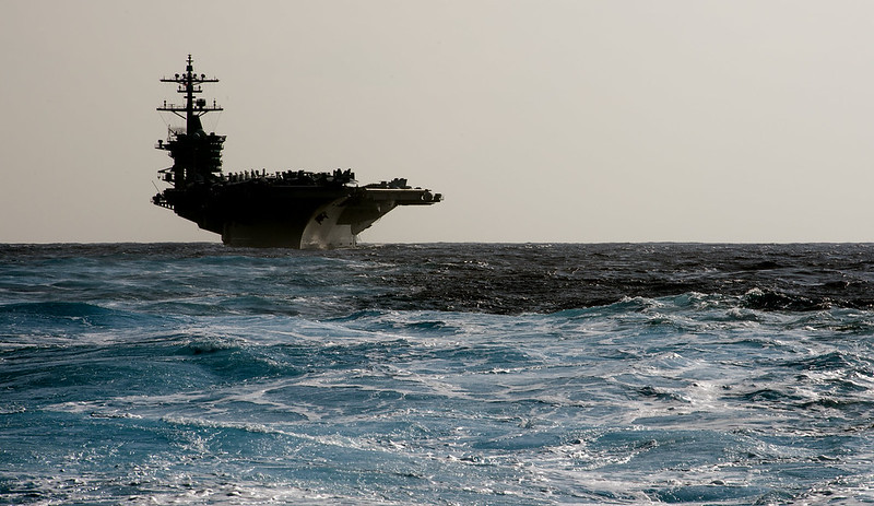USS Carl Vinson Projects Third Fleet Power Westward