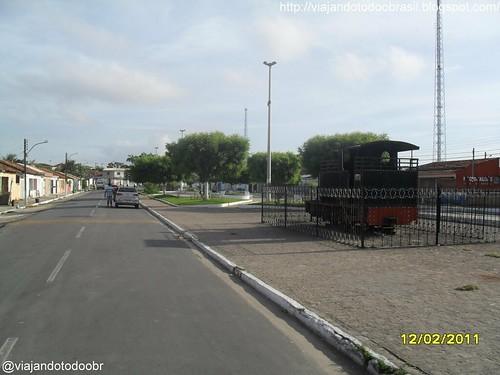 Porto Real do Colégio -  Praça do Trem