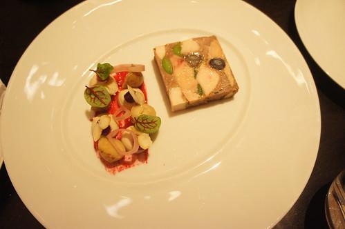 Pressed Chicken and Foie Gras Terrine
