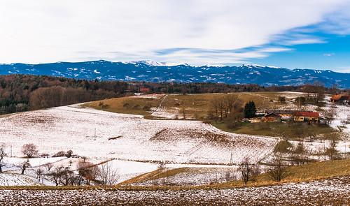 austria winter hillsmountains