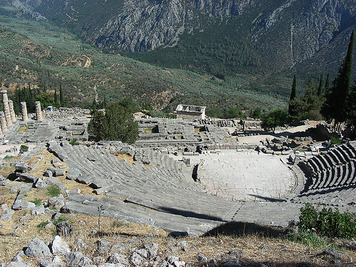 Delfy: Řecká krása uprostřed hor