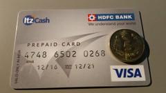 Oto nasza karta pre-paid, na szczęście już pusta!
