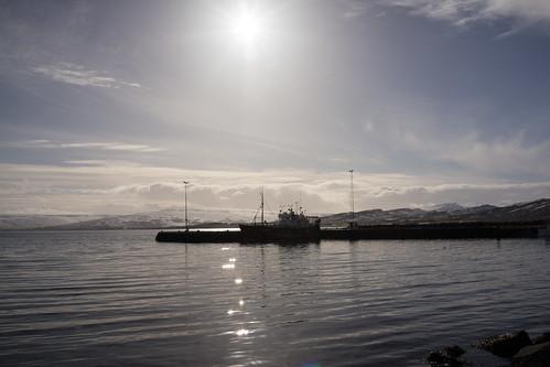holmavik iceland marine westernfjords structures transport boat harbor harbour seascape