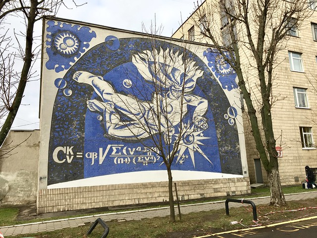 Science Wall in Minsk, Apple iPhone 6s, iPhone 6s back camera 4.15mm f/2.2
