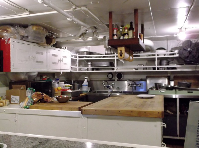 Ship's galley