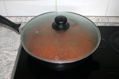 42 - Geschlossen schmoren lassen / Stew closed