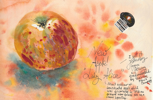 Sketchbook #91: New Apple!