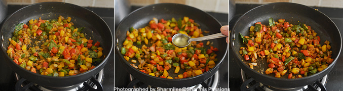 How to make capsicum zunka - Step4