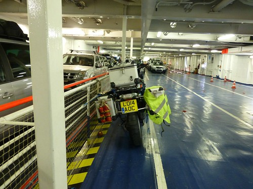 On Brittany Ferries