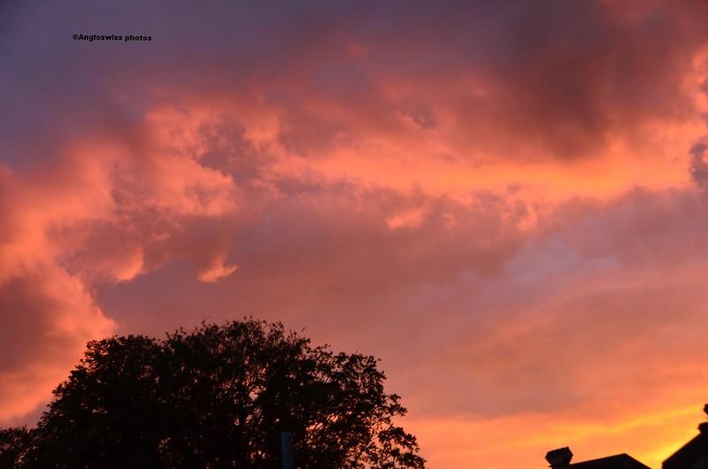 Sunset over Feldbrunnen