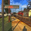 Morton Train station - #Train #sky #clouds #tracks #shadow #morton #delco