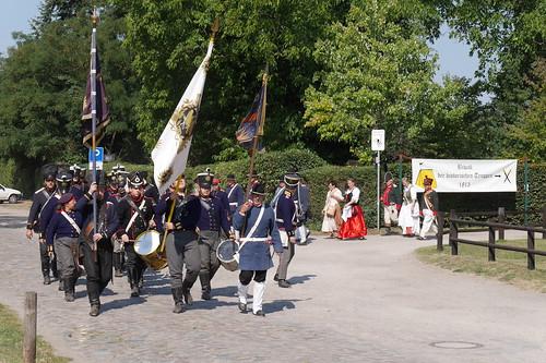 Aufmarsch der Preussen