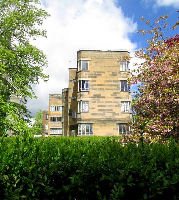 Art Deco Building, Univ of Glasgow