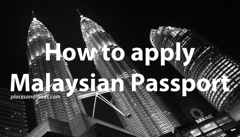 Malaysian passport how to apply