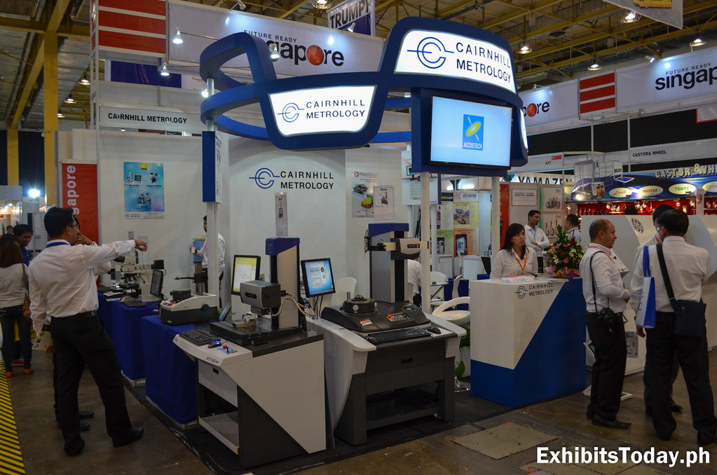Cairnhill Metrology Exhibit Booth
