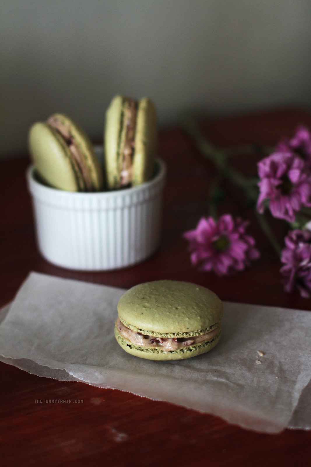 21077777272 87962bc473 h - Matcha Macarons with Red Bean Filling + My Japan Travel Video!