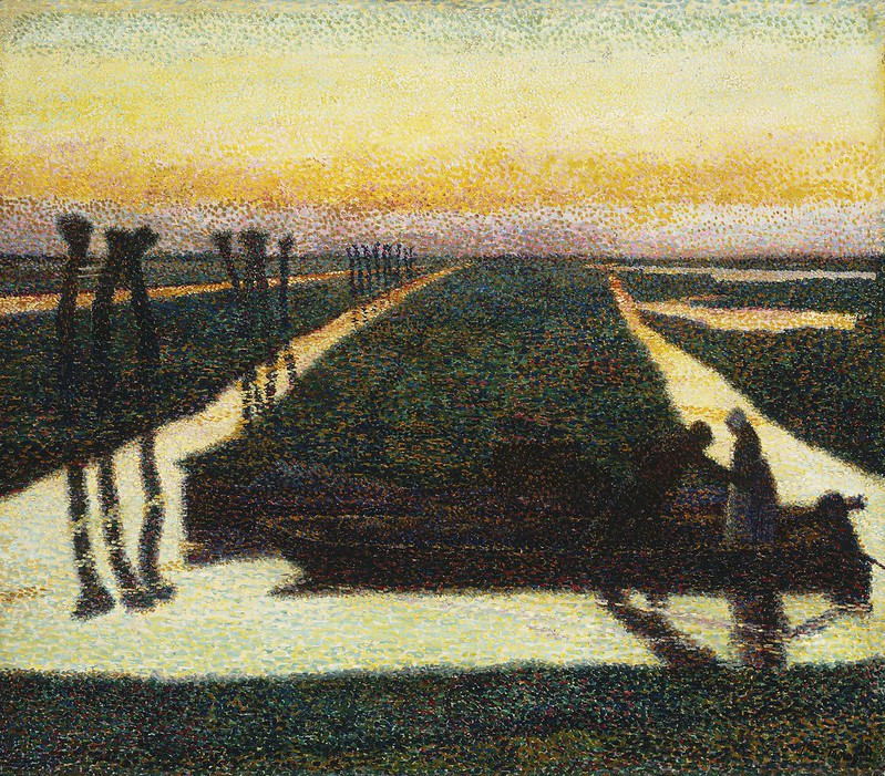 Jan Toorop - Broek in Waterland (1889)