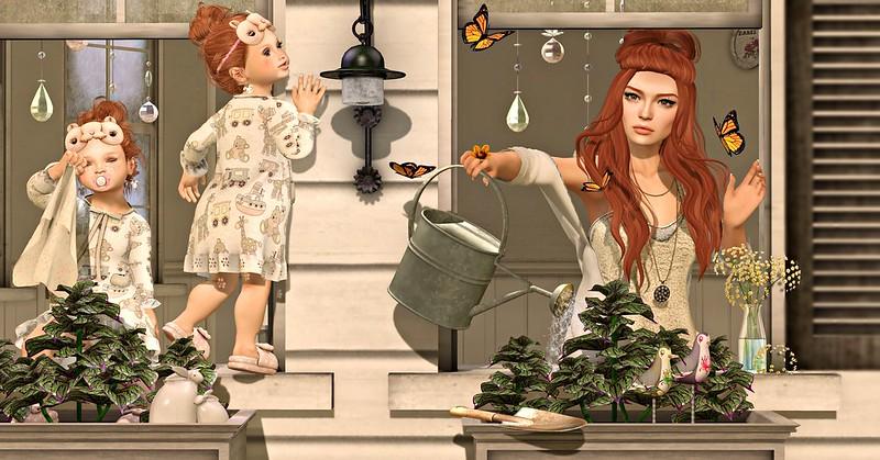 Amelie et les petites: Gardening day