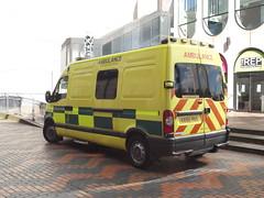 Birmingham Weekender - Centenary Square - ambulance