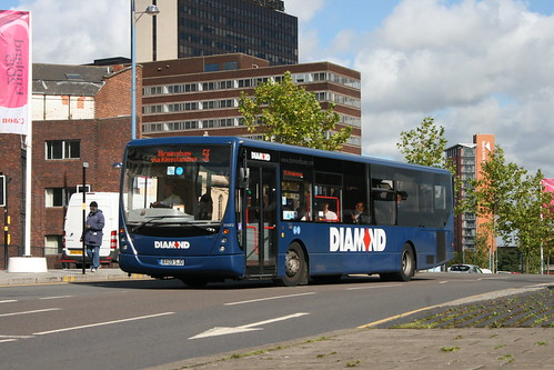 Diamond Bus 30822 on Route 56, Moor Street