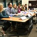 Students heard from professionals and interns who work in the fashion world during this panel and networking event on September 21, 2015 in Hornbake Library.