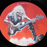 """IRON MAIDEN A Real Live One Bruce Dickinson 12"""" Vinyl LP"""