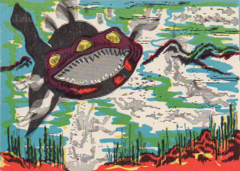 Monster Magic Action Trading Cards (1963) 24