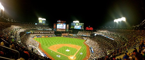 Citi Field, NLDS Game 4 panoramic