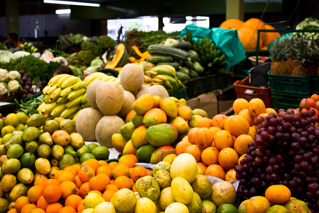 Fruit Market in Bogota