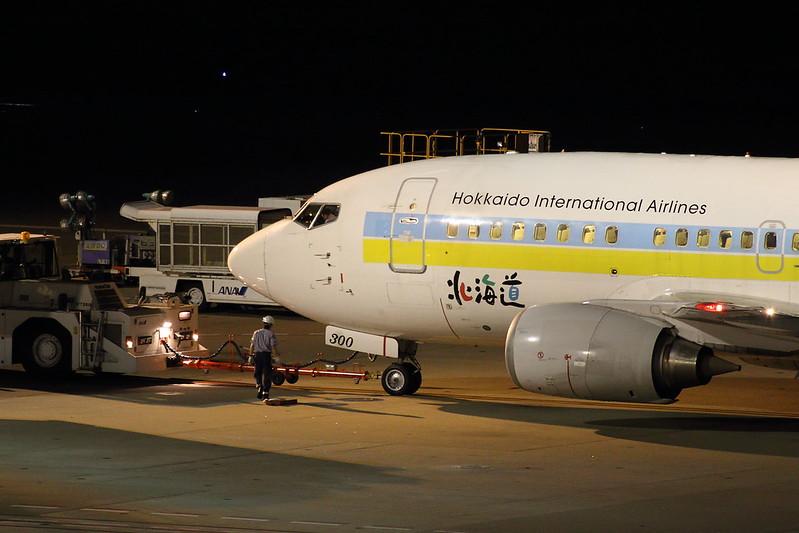 AIRDO B737-500 JA300K
