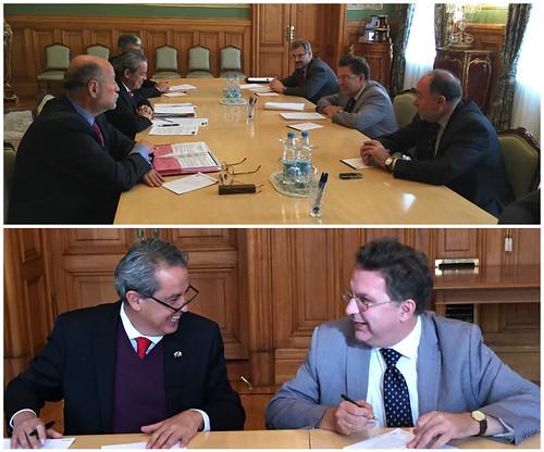 Consultas políticas del Director General para Europa en Moscú