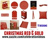 Christmas Red Gold by Juliana RW