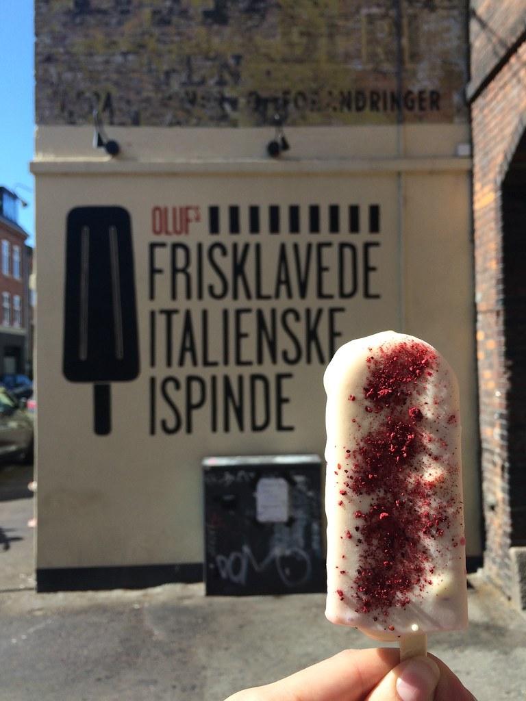 OLUFs frisklavede italienske ispinde ice cream pop Østerbro Copenhagen