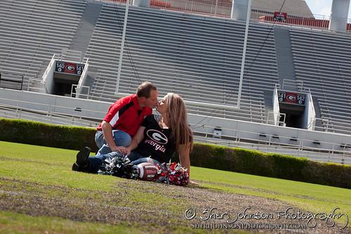 Pam & John UGA Engagement