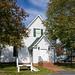 Hebron Lutheran Church with Stile c 1740 - Madison, Virginia